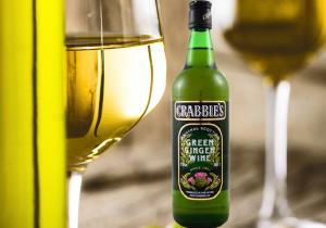 Crabbie's Green Ginger -- faimosul vin verde de ghimbir