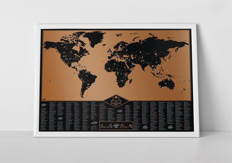 Harta razuibila a aventurilor -- 280 experiente aventuroase image