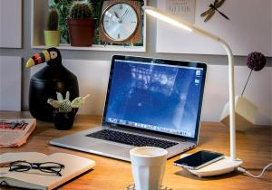 Lampa Wireless charger -- arta multifunctionalitatii