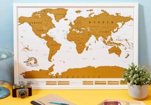 Harta ta razuibila - the original edition -- Lumea intreaga e terenul tau de joaca