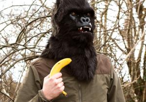 Masca Gorilla-- vrei o banana, omule?