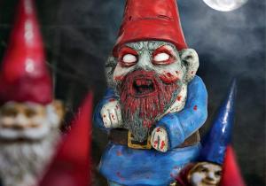 Piticul Zombie -- sperietorul gradinilor