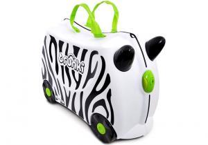 Trunki zebra -- Haideti copii, calare pe el