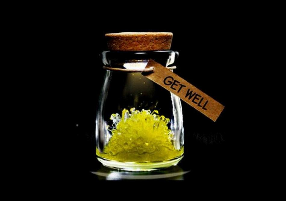 Floare de cristal -- Cadoul care creste in timp