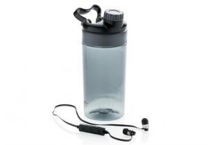 Sticla fitness cu casti wireless -- Tot ce-ti trebuie in timpul antrenamentului