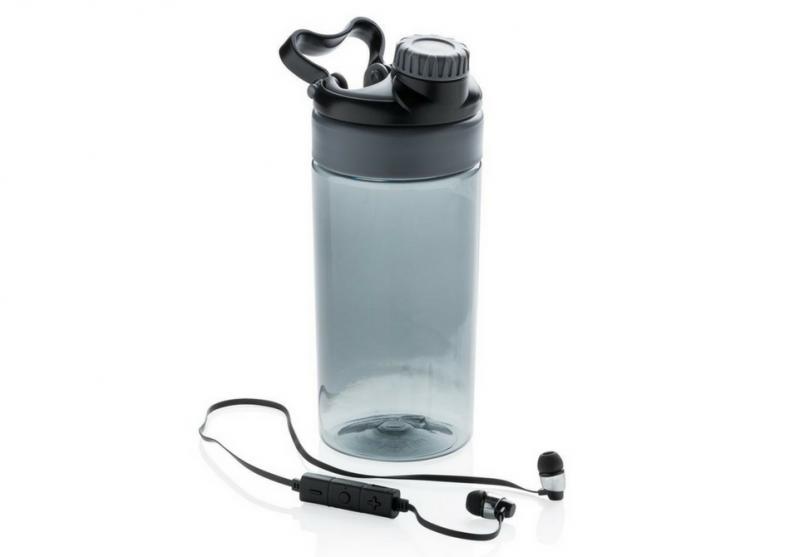 Sticla fitness cu casti wireless -- Tot ce-ti trebuie in timpul antrenamentului image