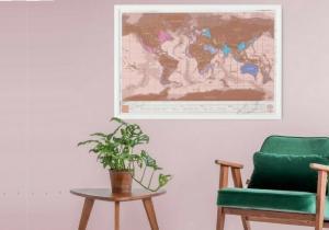 Harta razuibila Rose Gold -- Harta cocheta a feminitatii aventuroase