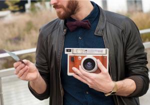 Lomo'Instant Wide Central Park -- Camera foto instant si 3 lentile