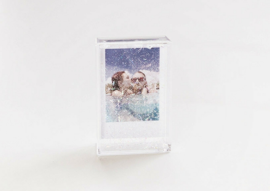 Rama Glitter-- Cascada prafului aur holografic