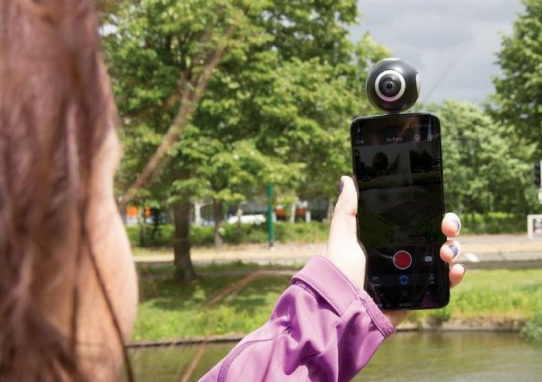 Aparat 360° Dual Lens -- Lumea-ntreaga intr-o privire image