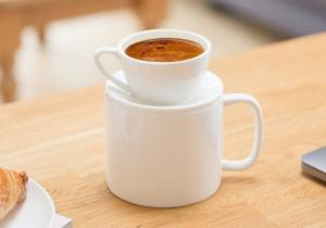 Cana Espresso & Latte -- 2-in-1 pentru dimineti cafeinate
