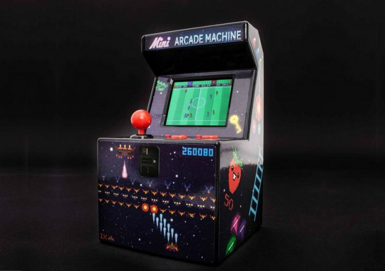 Consola retro Mini Arcade -- Butoneaza ca in anii '70! image