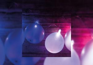 Baloane luminoase -- Atmosfera vesela in fiecare zi