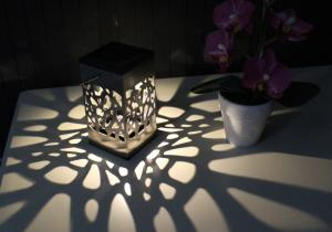 Felinar solar 3in1 -- Umbre artistice