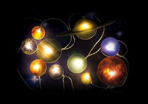 Sistem Solar luminos -- Planete pe fir