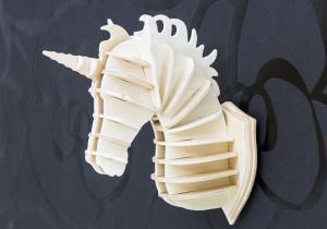 Unicorn DIY -- Creaza-ti propriul cap de unicorn