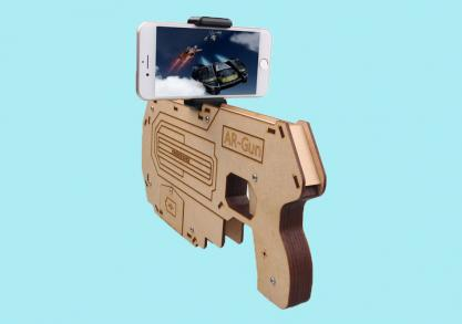 The guardian AR blaster -- Gaming la un alt nivel