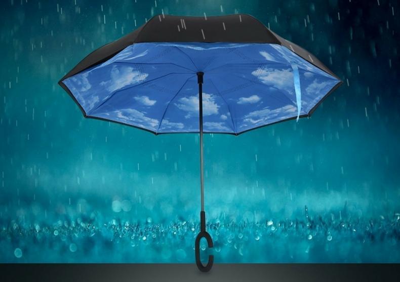 Umbrela cu cer albastru -- Mereu senin image