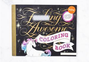 Carte de colorat F*cking Awesome -- Nu depasi conturul! Mazgaleste-ti stresul!