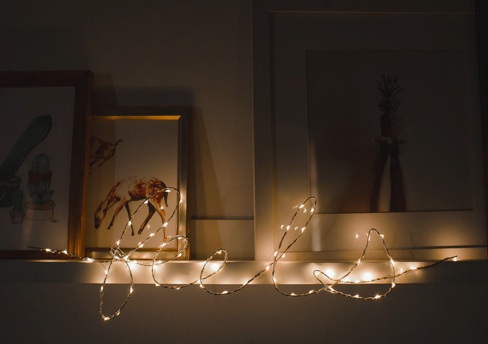 Luminite decorative DIY -- Posibilitatile sunt nenumarate