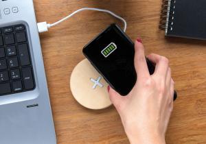 Wireless wood pad -- Conecteaza-te cu natura