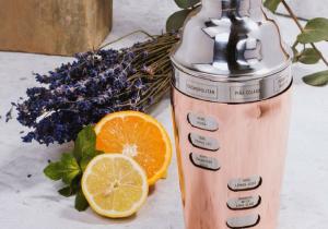 Cocktail Shaker -- Cu 8 retete incorporate