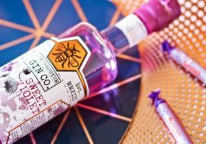 Sweet Violet Gin Liqueur -- Ultraviolete
