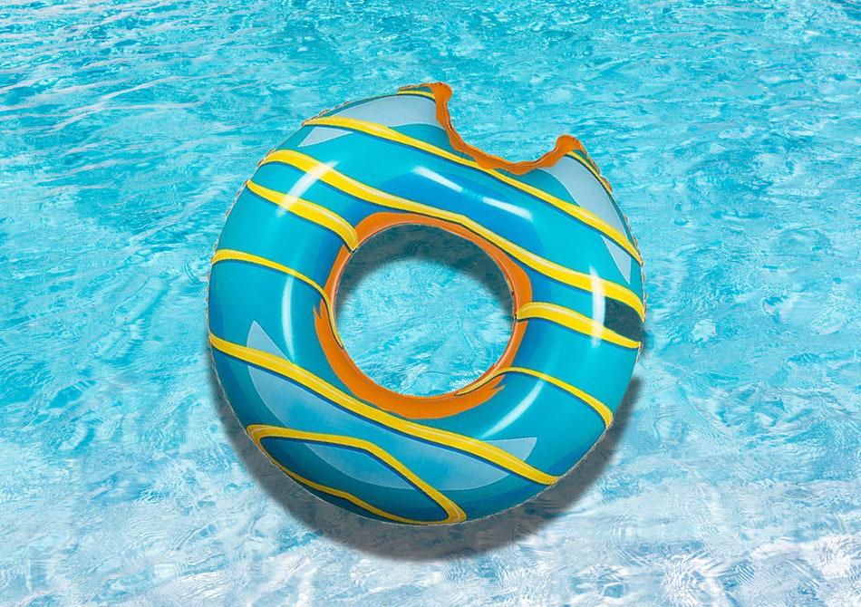 Gogoasa de piscina -- Gustul relaxarii
