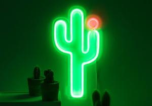 Lampa neon cactus -- Desert fara arsita
