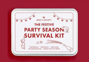 Party Season Survival Kit -- Heavy night last night?