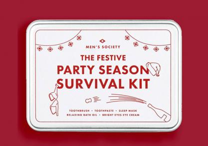 Party Season Survival Kit -- Heavy night last night?