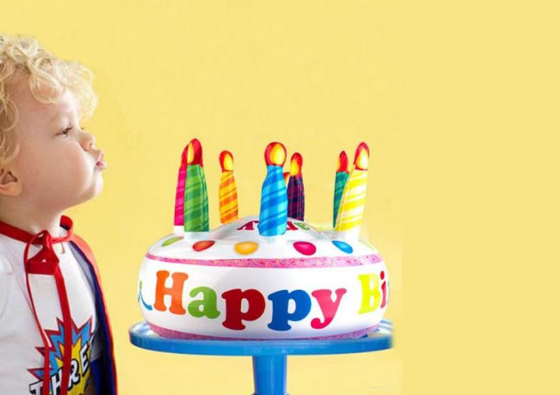 Tort gonflabil -- Spune adio cariilor! image