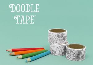 Doodle Tape -- Un scotch mai altfel