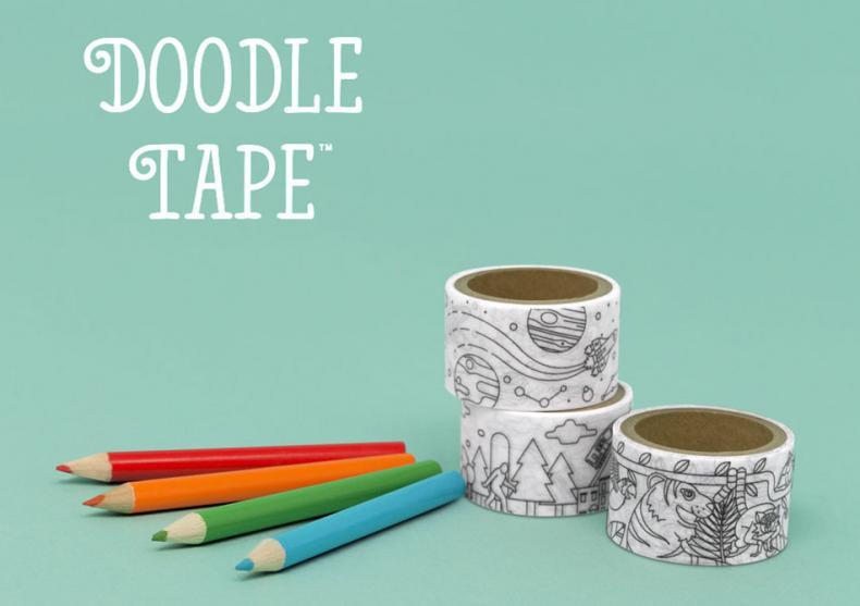 Doodle Tape -- Un scotch mai altfel image