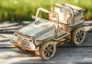 EcoBot Buggy -- Masina pentru toate varstele