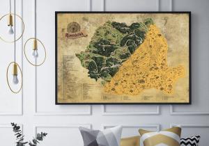 Harta razuibila a Romaniei -- Calatoreste, cunoaste, razuieste, dezvaluie!