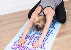 Spiritual as f*ck -- Saltea yoga ambitioasa
