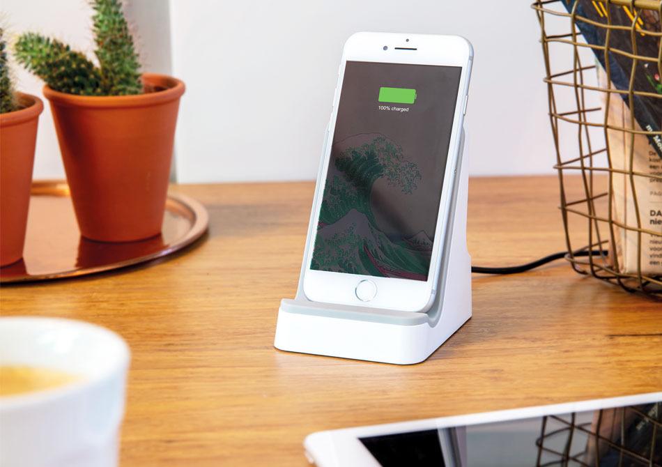 Stand wireless -- Suport energetic pentru telefon