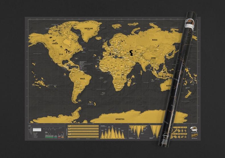 Harta razuibila Deluxe XL -- Lux la puterea a doua! image