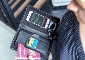 Swiss Peak Heritage RFID -- Luxul cu tine pe drum