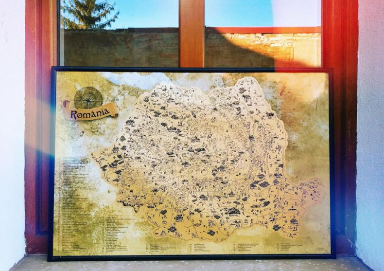 Harta razuibila a Romaniei -- Calatoreste, cunoaste, razuieste, dezvaluie! image