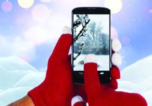 Manusi Touchscreen iFeel Unisex -- Lumea la degetele tale!