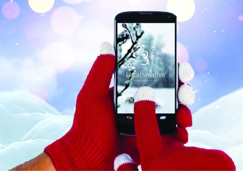 Manusi Touchscreen iFeel Unisex -- Lumea la degetele tale! image