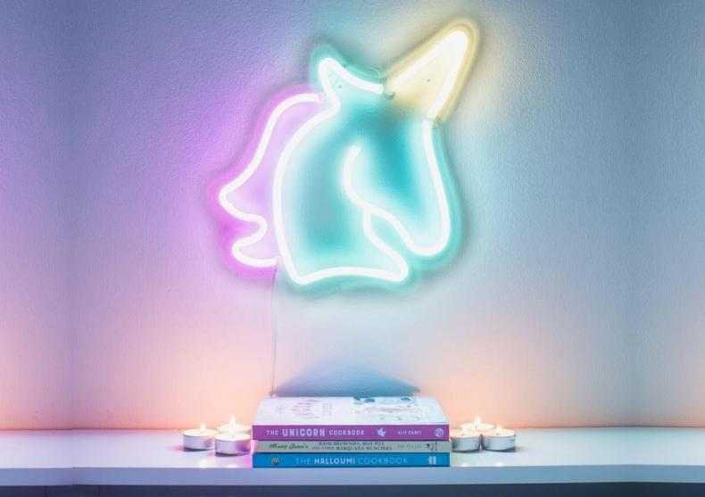 Lampa neon unicorn -- Glow with the flow image