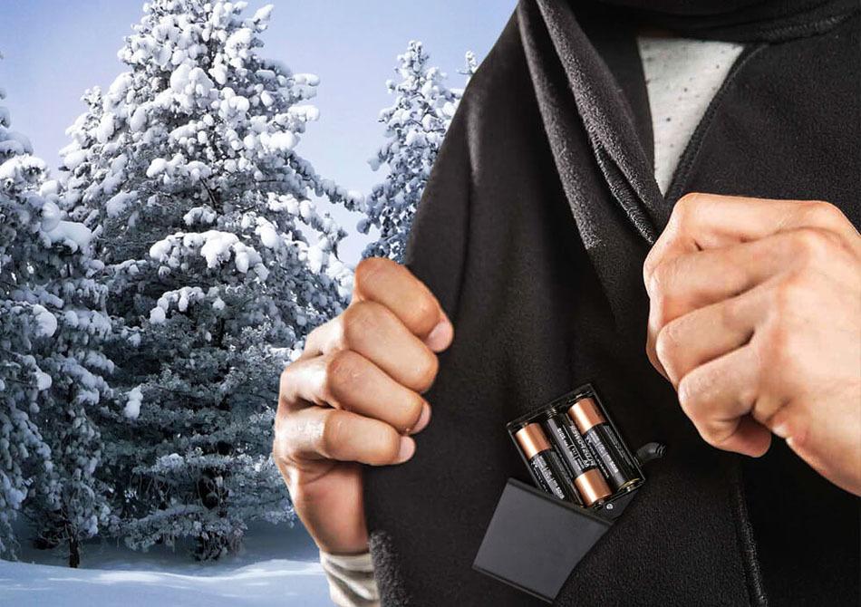 Fular calduros electric -- Gata cu Brrrrrr!