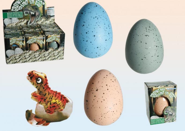 Ou de dinozaur -- Proiect stiintific pentru micii cercetatori image