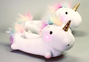 Papuci unicorni fermecati -- Mocasini mistici