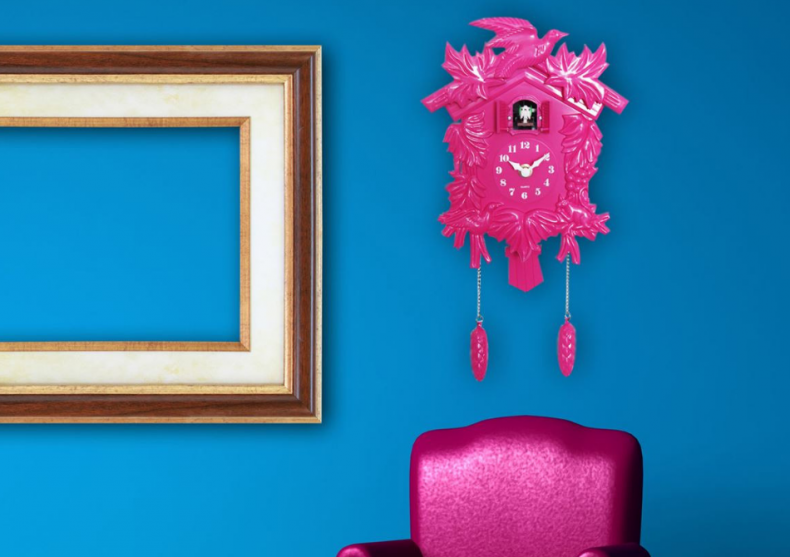 Ceas de perete vintage -- Intoarce-te in timp image