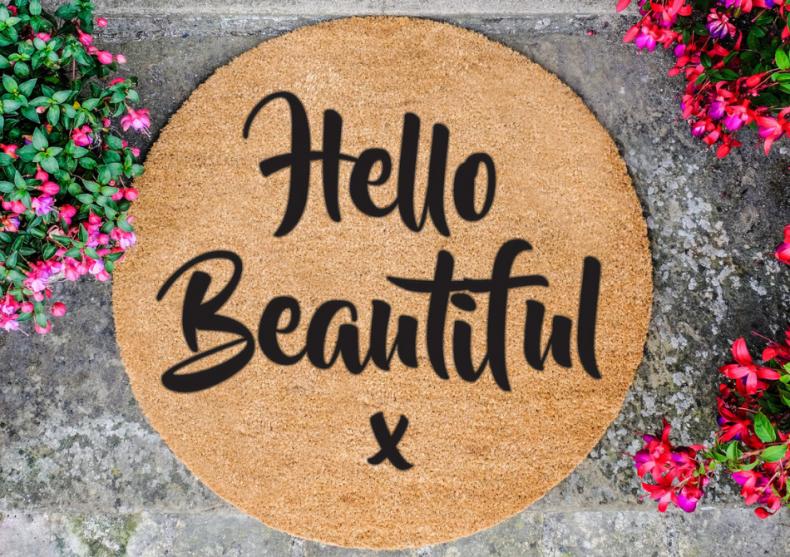 Covoras Hello Beautiful -- Pentru o stare de bine image