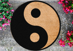 Covoras Yin Yang -- Opusurile sunt inseparabile